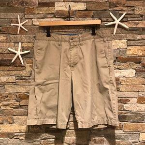 Volcom 34 Waist Corpo Class Khaki Shorts
